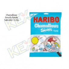 Haribo Chamallows Smurfs Family habcukor 100g