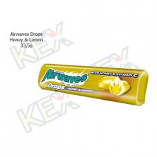 Airwaves Drops Honey & Lemon 33,5g