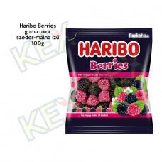Haribo Berries gumicukor szeder-málna ízű 100g