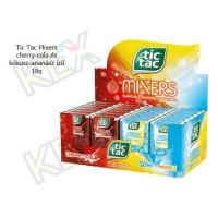 Tic Tac Mixers cherry-cola és kókusz-ananász ízű 18g