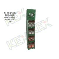 Tic Tac Display (alma 12db, narancs 12db, mentol 12db) 18g