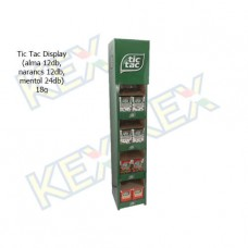 Tic Tac Display (alma 12db, narancs 12db, mentol 12db) 18g