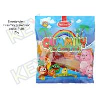 Sweetsystem Gummily exotic fruits gumicukor 75g