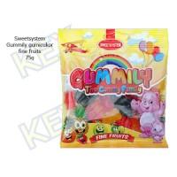 Sweetsystem Gummily fine fruits gumicukor 75g