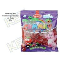 Sweetsystem Gummily red fruits gumicukor 75g