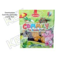 Sweetsystem Gummily menta-lime gumicukor 75g