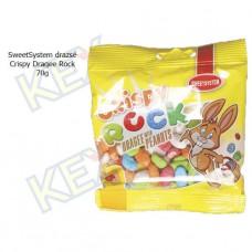 SweetSystem drazsé Crispy Rock Peanuts 70g