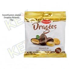 SweetSystem drazsé Dragées Peanuts 70g