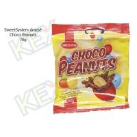 SweetSystem drazsé Choco Peanuts 70g