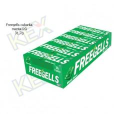 Freegells cukorka menta ízű 31,7g