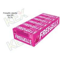 Freegells cukorka eper ízű 31,7g