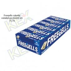 Freegells cukorka eukaliptusz-mentol ízű 31,7g