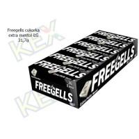 Freegells cukorka extra mentol ízű 31,7g