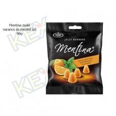 Mentina zselé narancs és mentol ízű 90g