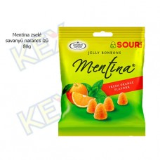 Mentina zselé savanyú narancs 80g