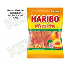 Haribo Pfirsiche gumicukor őszibarack ízű 100g