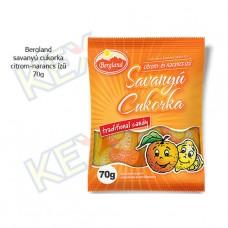 Bergland savanyú cukorka citrom és narancs ízű 70g