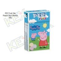 PEZ Fruit Mix Peppa Pig cukorka 30g