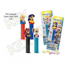 PEZ adagoló Super Hero Girls 17g