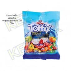 Elvan Toffix cukorka vegyes gyümölcs ízű 90g