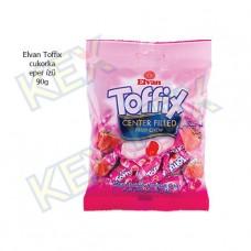 Elvan Toffix cukorka eper ízű 90g