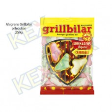 Ahlgrens Grillbilar pillecukor 250g
