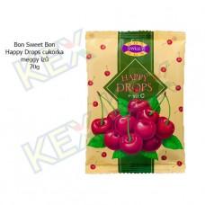 Bon Sweet Bon Happy Drops cukorka meggy ízű 70g