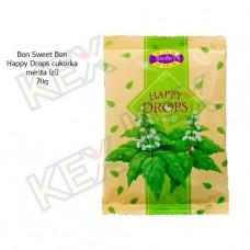 Bon Sweet Bon Happy Drops cukorka menta ízű 70g
