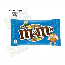 m&ms crispy drazsé 36g