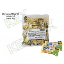 Slowianka Milk&Milk tejszín ízű cukor 85g