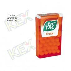 Tic Tac drazsé narancs ízű 16g