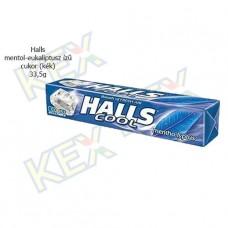 Halls mentol-eukaliptusz cukor 33,5g