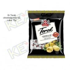 Dr Torok cukor citromolaj-méz ízű 75g
