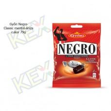 Győri Negro classic mentol-ánizs ízű cukor 79g