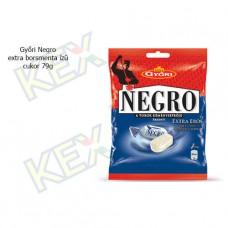 Győri Negro extra borsmenta ízű cukor 79g