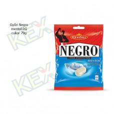 Győri Negro mentol ízű cukor 79g