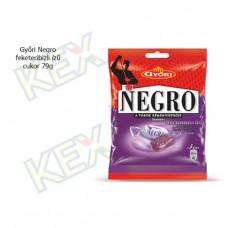 Győri Negro feketeribizli ízű cukor 79g