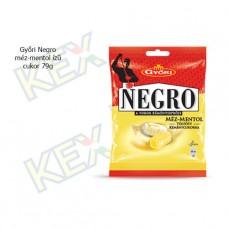 Győri Negro méz-mentol ízű 79g