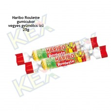 Haribo Roulette gyümölcs gumicukor 25g