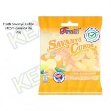 Frutti savanyú cukor citrom-narancs ízű 70g