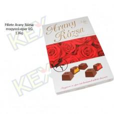 Milete Arany Rózsa desszert mogyoró-eper ízű 136g