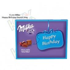 I Love Milka Happy Birthday meggyes desszert 110g