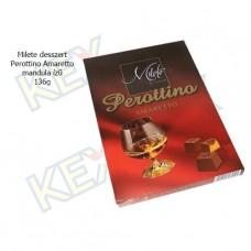 Milete Perottino Amaretto desszert mandula ízű 136g
