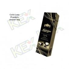 Carla Laguna Premium 70% tengergyümölcse étcsokoládé desszert 50g