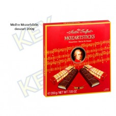Maitre Truffout Mozartsticks pisztácia-marcipán ízű 200g