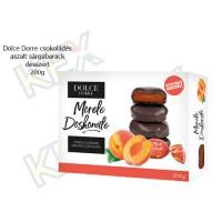 Dolce Dorre csokoládés aszalt sárgabarack desszert 200g