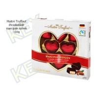 Maitre Truffout étcsokoládé marcipán szívek 110g