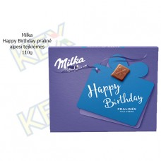 I Love Milka Happy Birthday praliné alpesi tejkrémes 110g