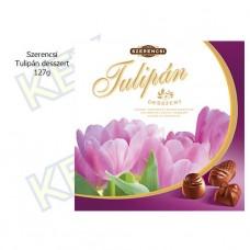 Szerencsi Tulipán töltött desszert cherry, mogyoró és rumos gesztenye ízű 127g