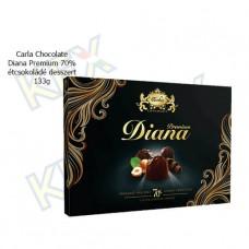 Carla Chocolate Diana Premium 70% étcsokoládé desszert 133g